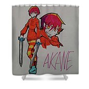 Akane Shower Curtain
