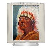 Akecheta, Native American Shower Curtain