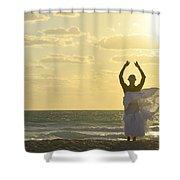 Akenaton Shower Curtain