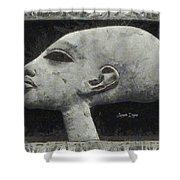 Akhenaten Was Among Us Shower Curtain