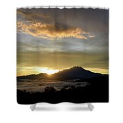 Akinabalu 3 Shower Curtain