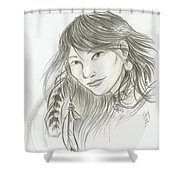 Akinik Shower Curtain