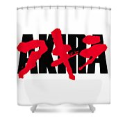 Akira Japan Anime Shower Curtain