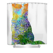 Akita Inu Shower Curtain