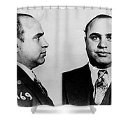 Al Capone Shower Curtain
