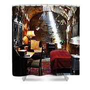 Al Capone's Cell - Eastern State Penitentiary Shower Curtain