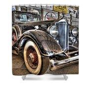 Al Capone's Packard Shower Curtain