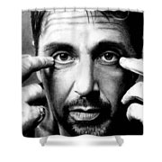 Al Pacino Shower Curtain