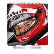 Al Unser Shower Curtain