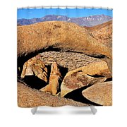 Alabama Hills Arches Shower Curtain