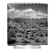 Alabama Hills Shower Curtain