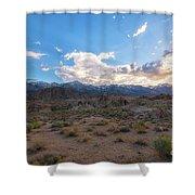 Alabama Hills Sunset  Shower Curtain