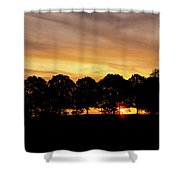 Alabama Sunrise Shower Curtain