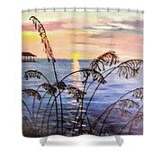 Alabama Sunset Shower Curtain