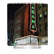 Alabama Theater Shower Curtain
