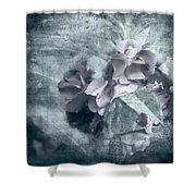 Alabaster Petals Shower Curtain