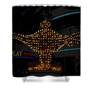 Aladdin Las Vegas Shower Curtain