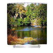 Alafia River Shower Curtain