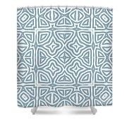 Alahambra Blue Shower Curtain