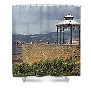 Alameda De Jose Antonio In Ronda Spain Shower Curtain