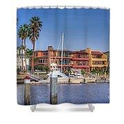 Alamitos Bay Naples 3 Shower Curtain