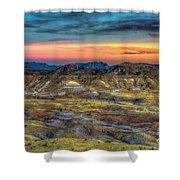 Alamo Creek Sunset Shower Curtain