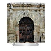 Alamo Door Shower Curtain