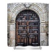 Alamo Doors Shower Curtain