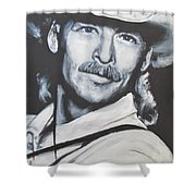 Alan Jackson - In The Real World Shower Curtain