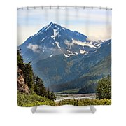 Alaska A Shower Curtain