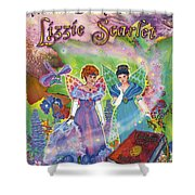 Alaska Berry Fairies Book 2 Lizzie Scarlet Shower Curtain