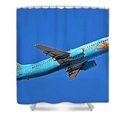 Alaska Boeing 737-490 N791as Tinker Bell Phoenix Sky Harbor January 12 2016 Shower Curtain