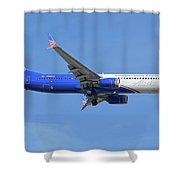 Alaska Boeing 737-900 N265ak Honoring Those Who Serve Phoenix Sky Harbor November 12 2017 Shower Curtain
