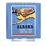 Alaska Death Trap Shower Curtain