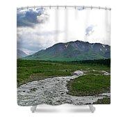 Alaska Denali National Park Landscape 1 Shower Curtain