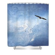 Alaska Dreaming Shower Curtain
