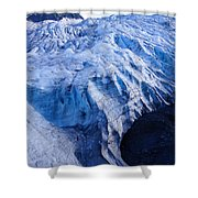 Alaska Exit Glacier Shower Curtain