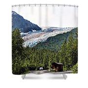 Alaska Glacier B Shower Curtain