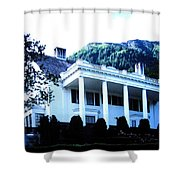 Alaska Governors Mansion Shower Curtain