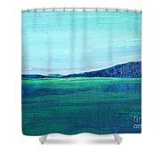 Alaska Lake Shower Curtain