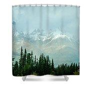 Alaska Range 2 Shower Curtain