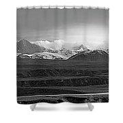 Alaska Range Right Panel Shower Curtain