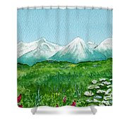 Alaska Splendor Shower Curtain