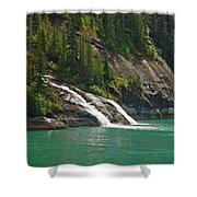 Alaska Tracy Arm Shower Curtain