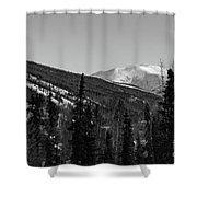 Alaska Wilderness Bw Shower Curtain