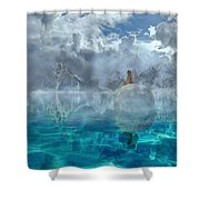Alaskan Avalon Shower Curtain