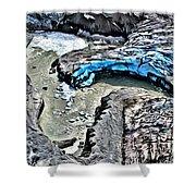 Alaskan Glacier Shower Curtain