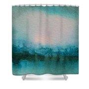Alaskan Lake Shower Curtain