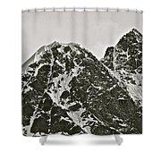 Alaskan Peaks Shower Curtain