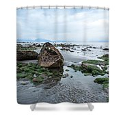 Alaskan Shoreline Shower Curtain